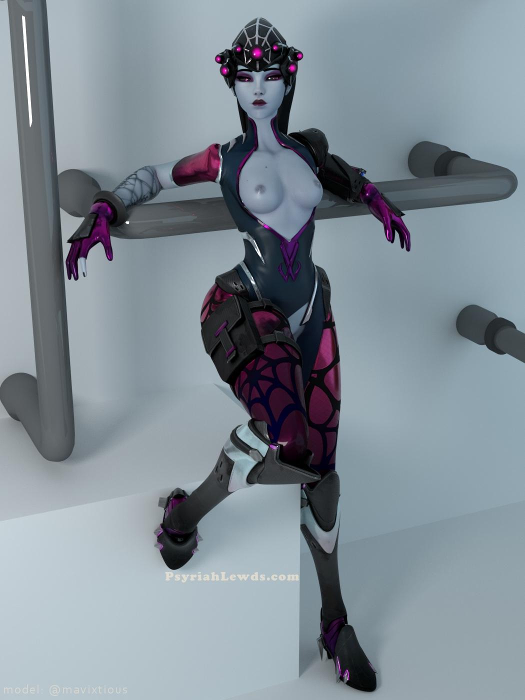 Widowmaker sexy 3d pose
