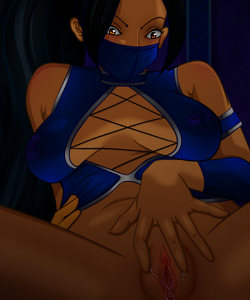 Kitana anal sex hentai